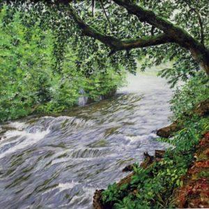 تابلو نقاشی رودخانه کندلوس