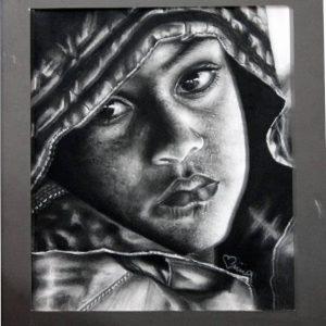 تابلو نقاشی کودک عرب