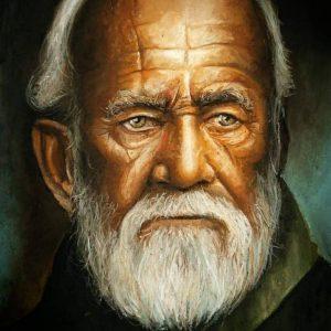 پیرمرد ریش سفید